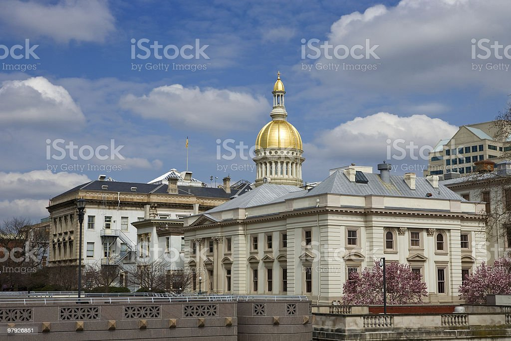 New Jersey State House royalty-free stock photo