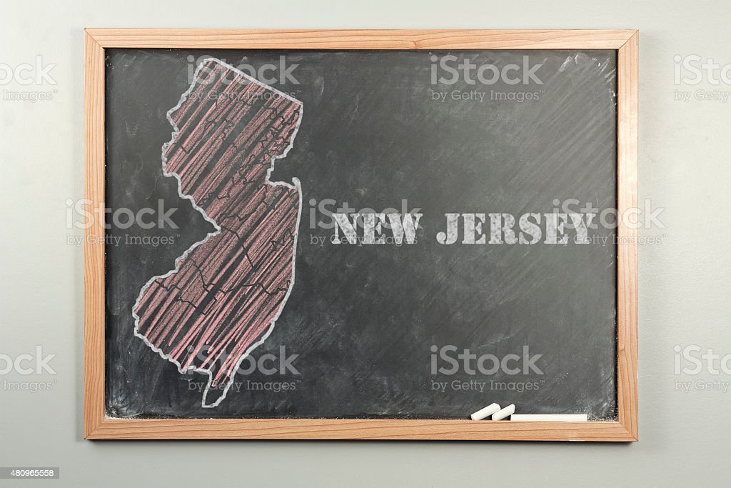 New Jersey State stock photo