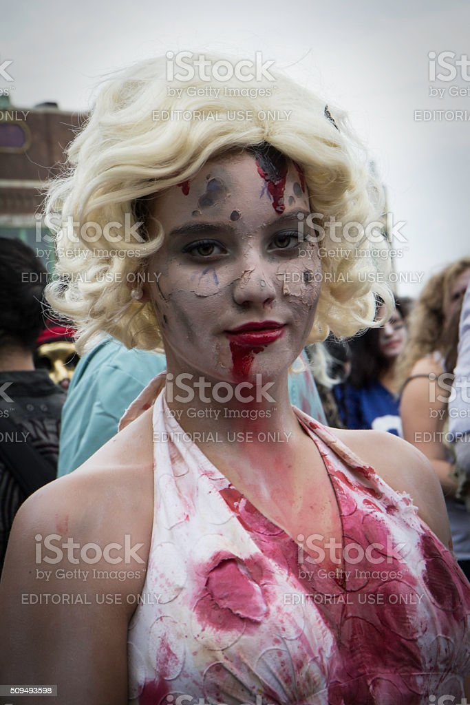2012 New Jersey Zombie Walk stock photo