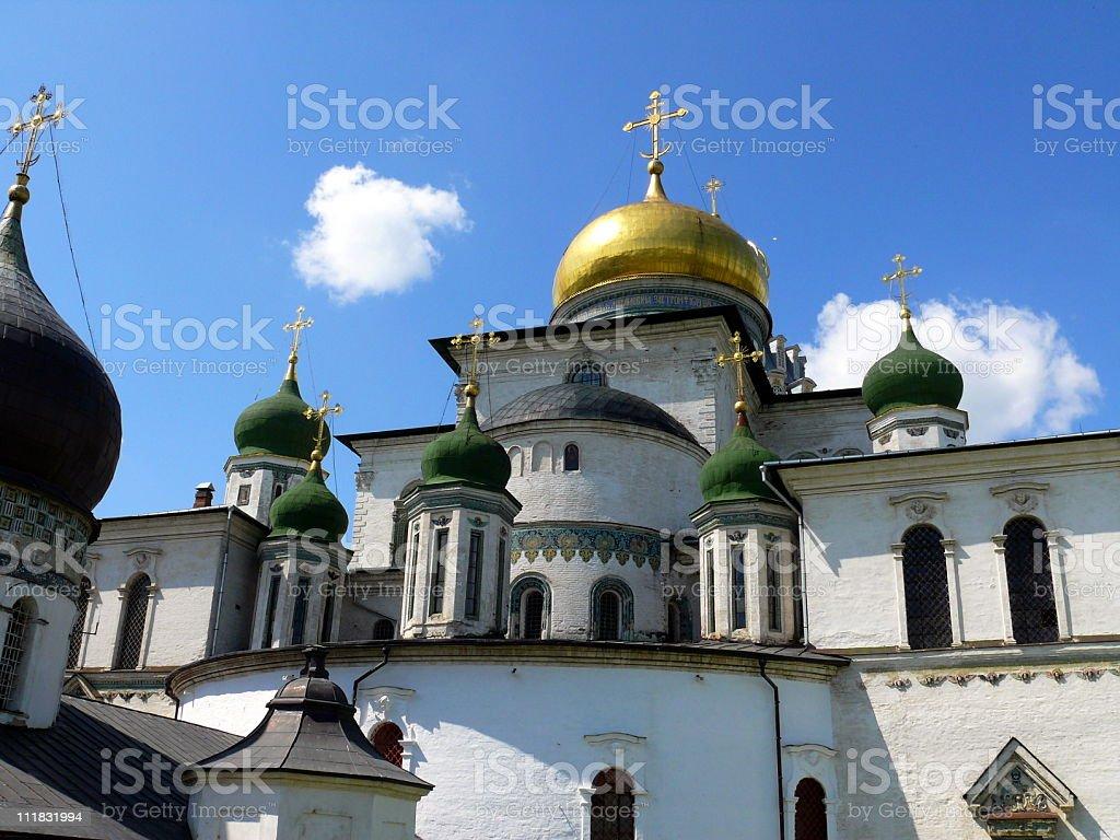 New Jerusalem monastery - Russia stock photo