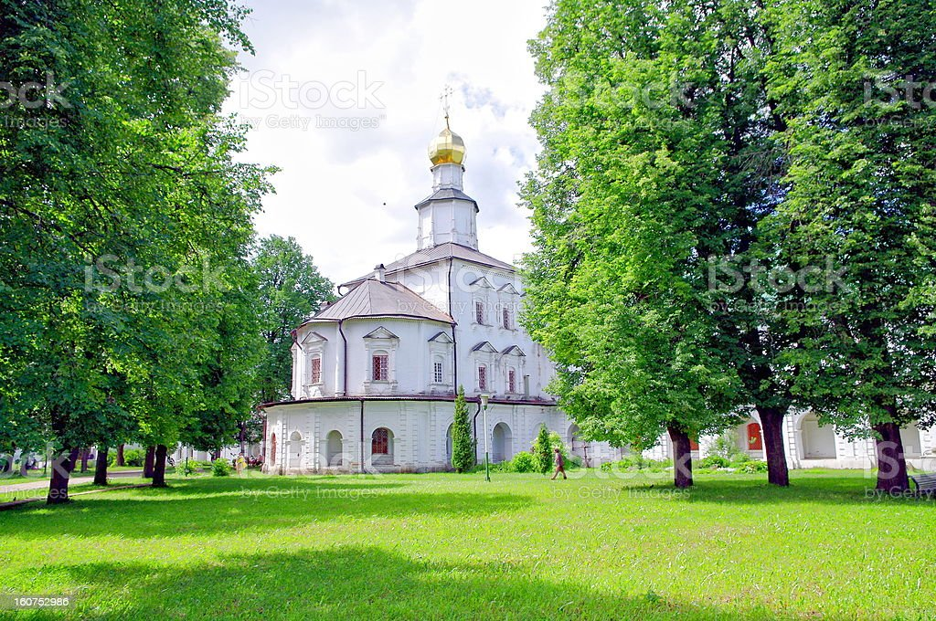 New Jerusalem monastery - Russia royalty-free stock photo