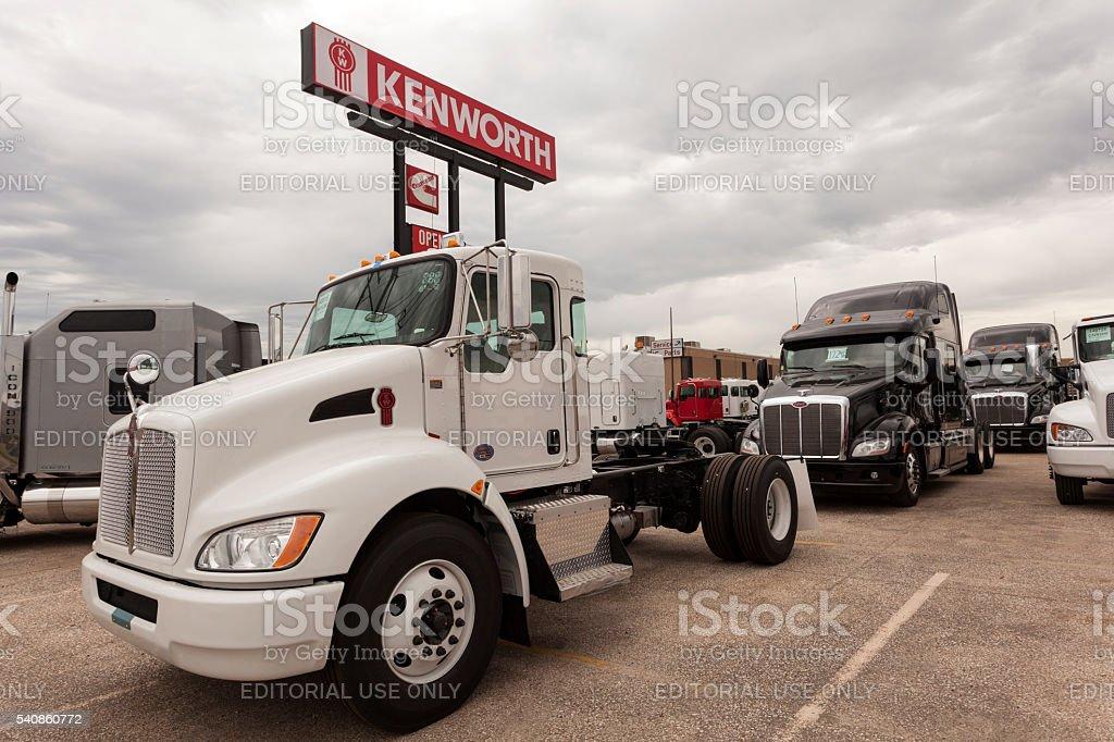New Kenworth T270 Truck stock photo