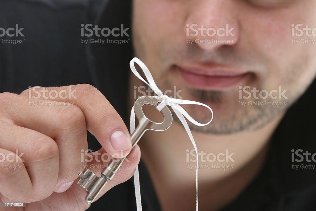 new keys royalty-free stock photo