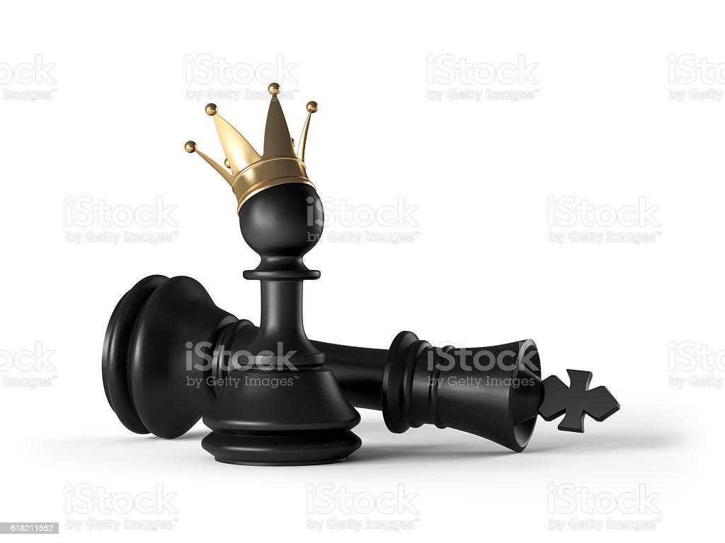 New King stock photo