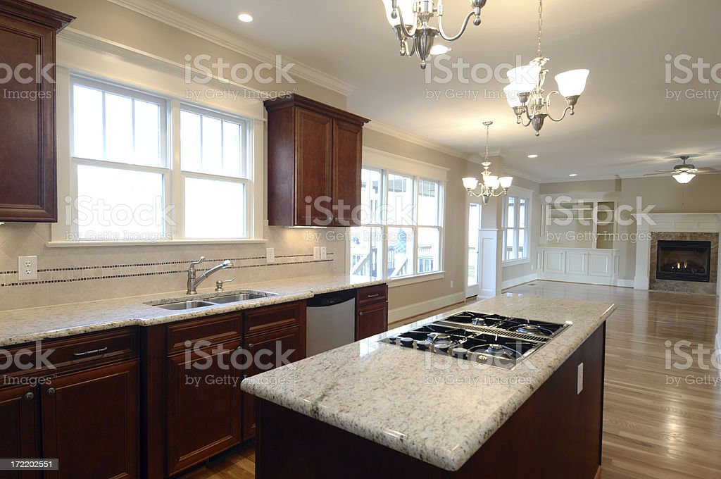 New Kitchen royalty-free stock photo