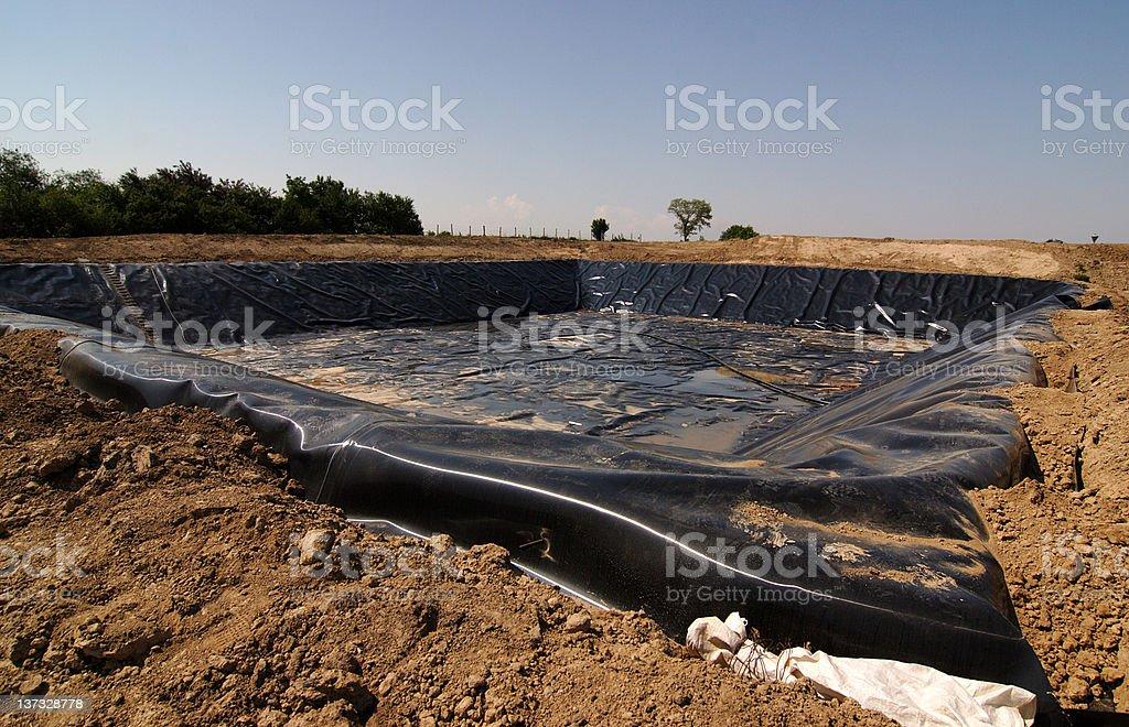 New landfill stock photo