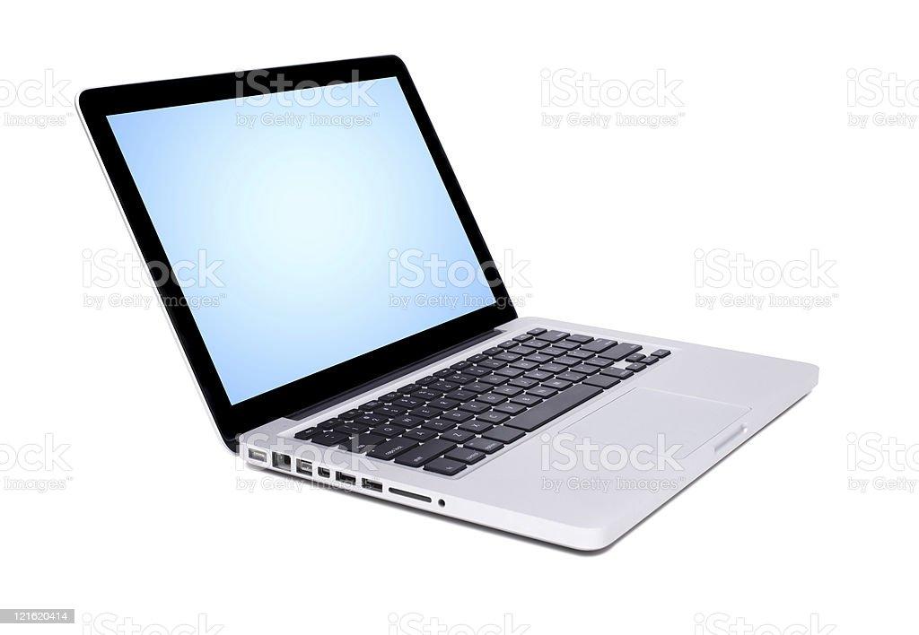 New Laptop royalty-free stock photo