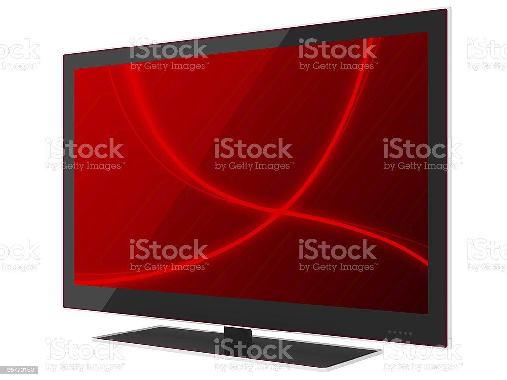 New LED Tv stock photo