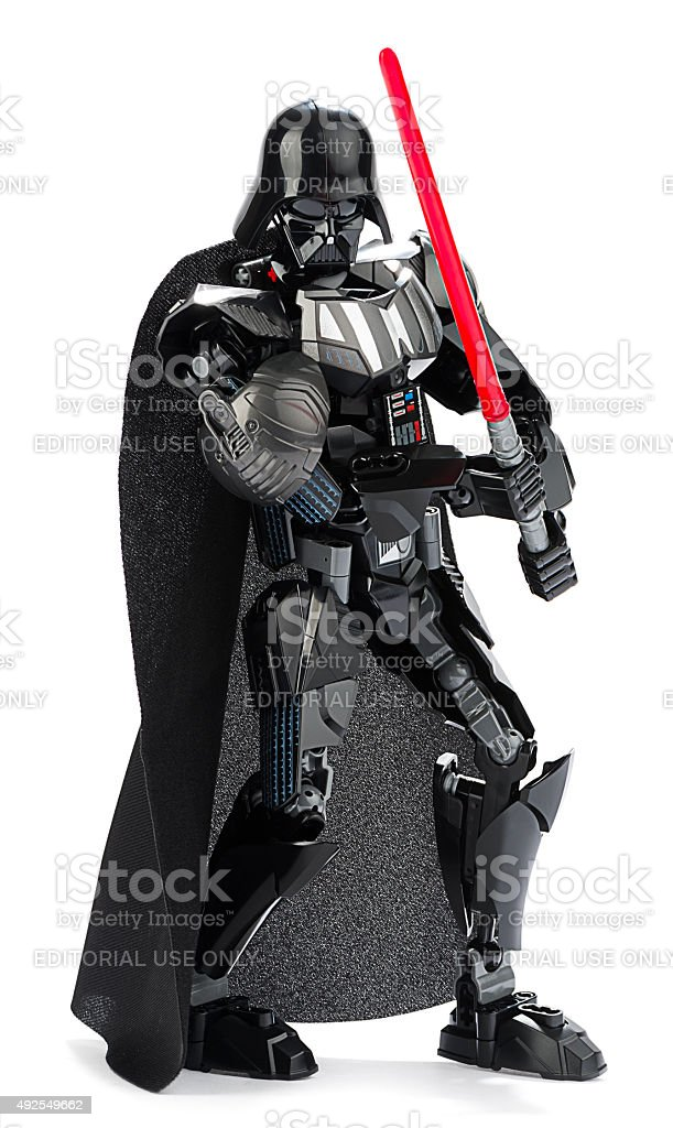 New LEGO Darth Vader stock photo