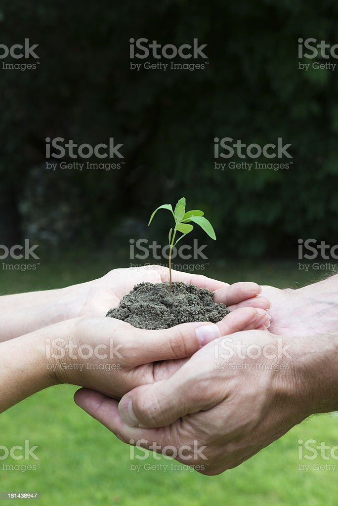 New life man and woman royalty-free stock photo
