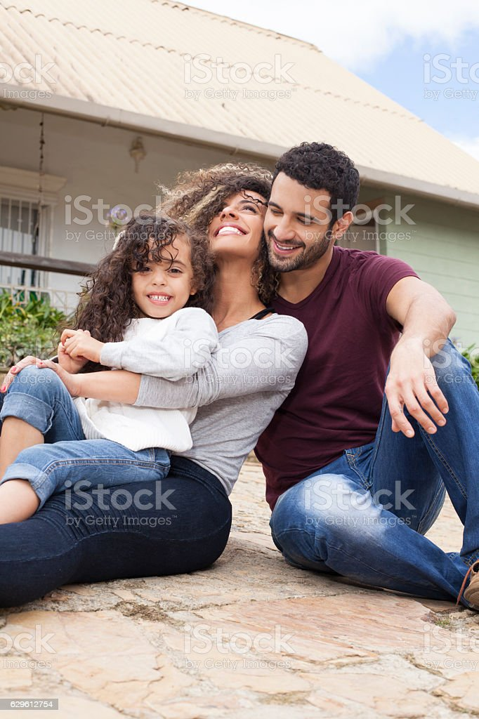 New life, new home stock photo