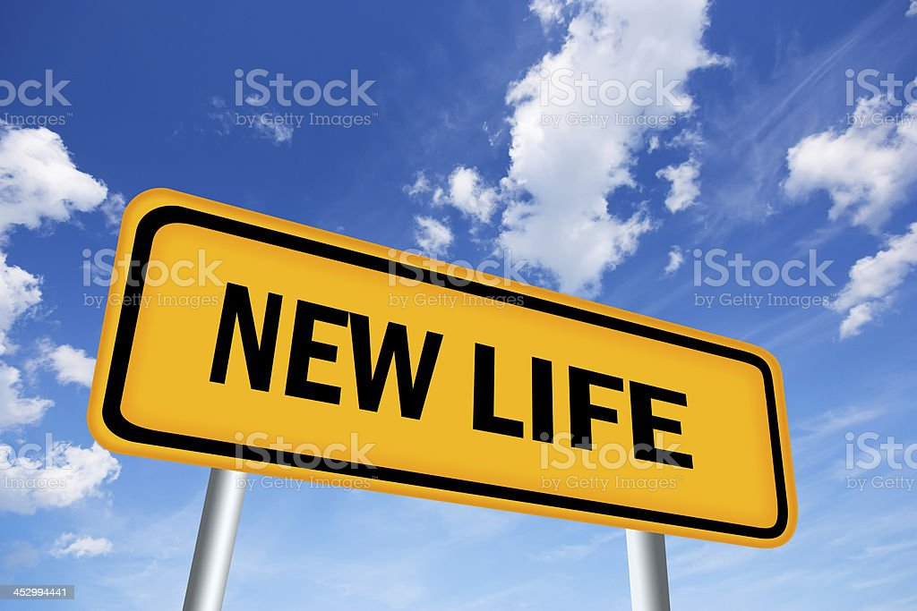 New life sign royalty-free stock photo
