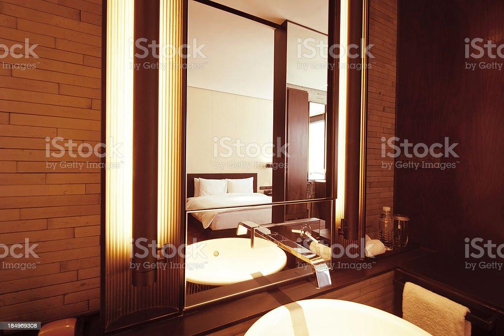 New luxury bathroom royalty-free stock photo