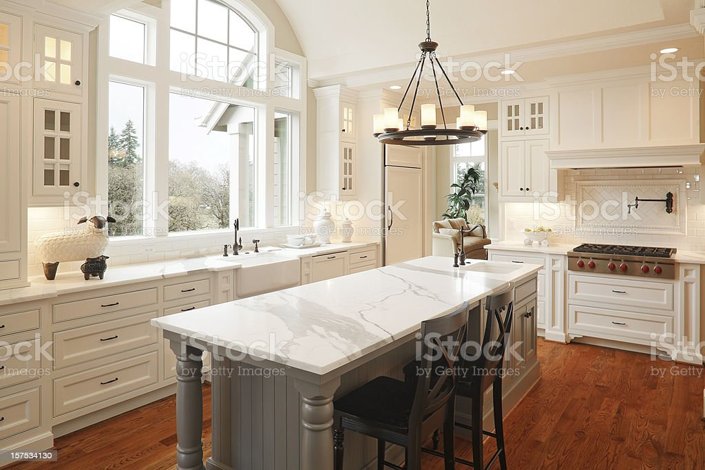 New Luxury Kitchen stock photo