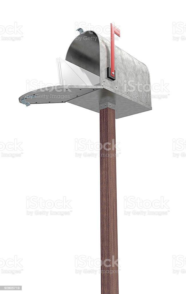 New Mail stock photo
