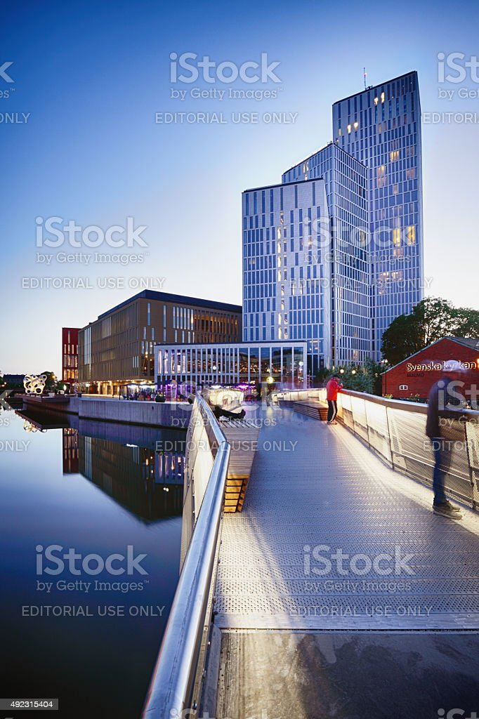 New MalmoLive Hotel and Congress centre stock photo