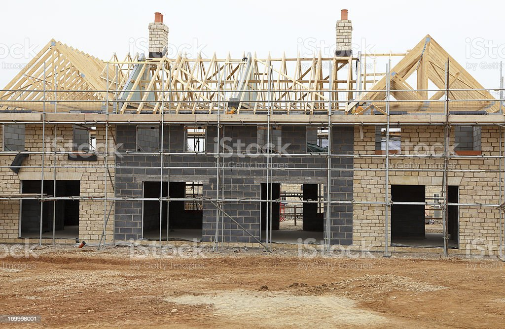 New mansion royalty-free stock photo