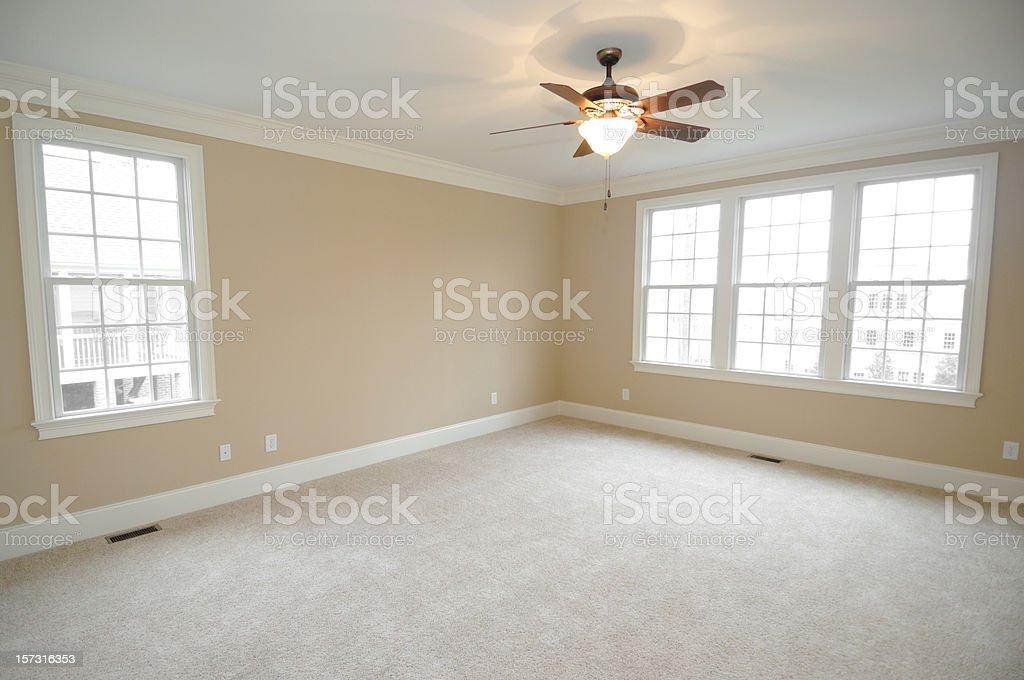New Master Bedroom royalty-free stock photo