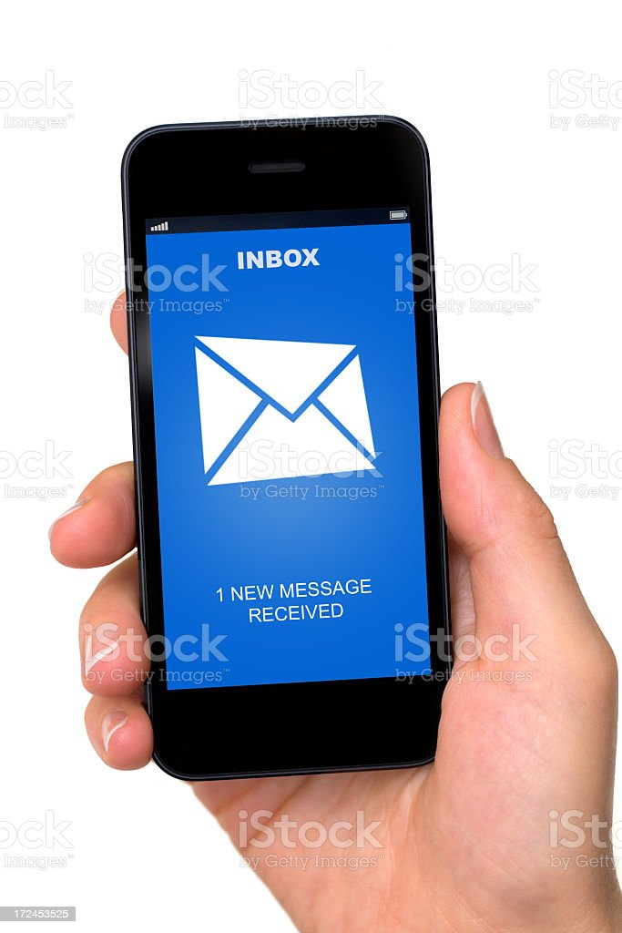 New message stock photo