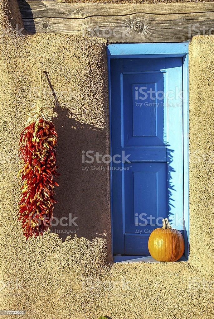 New Mexico Autumn stock photo