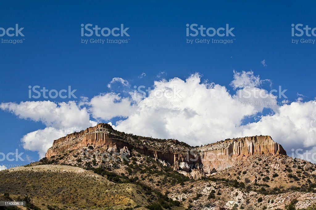 New Mexico Countryside royalty-free stock photo