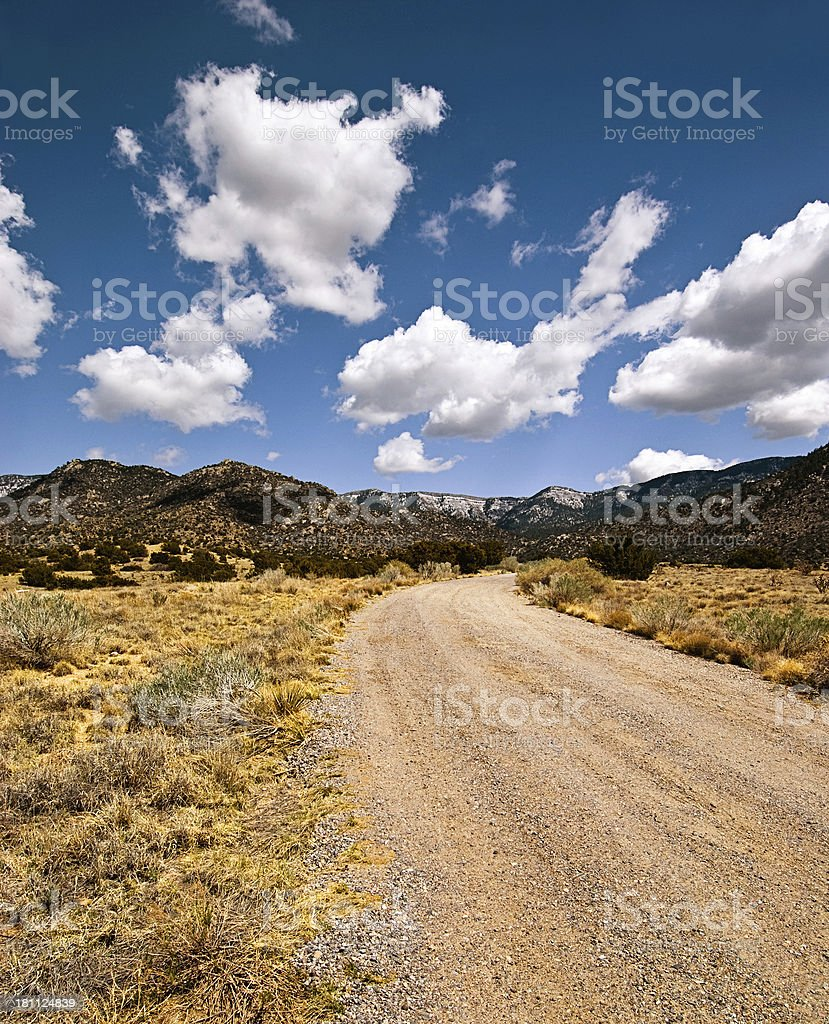 New Mexico High Desert royalty-free stock photo