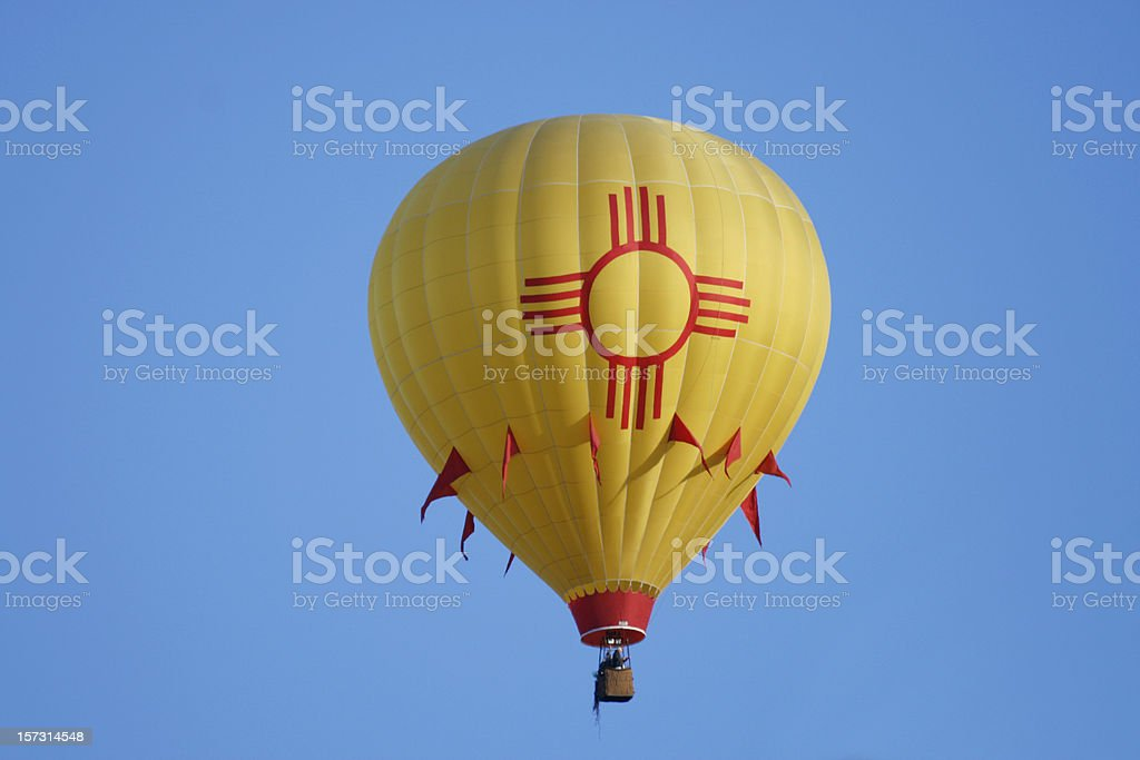 New Mexico Hot Air Balloon royalty-free stock photo
