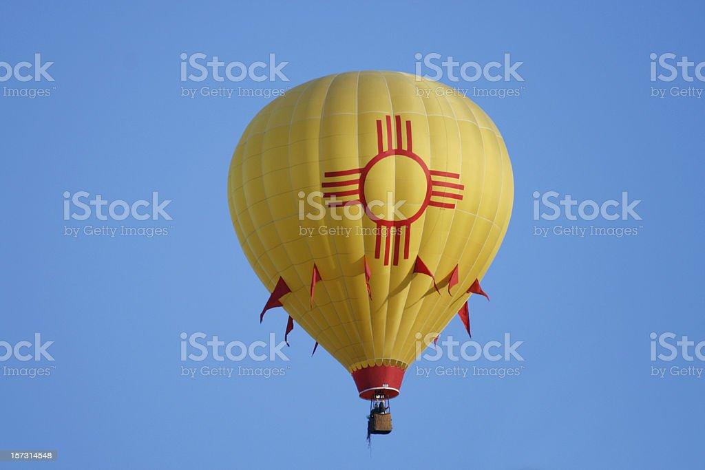 New Mexico Hot Air Balloon stock photo