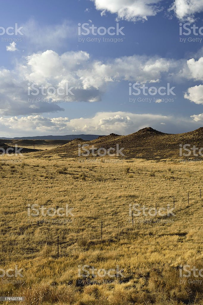 New Mexico Landscape royalty-free stock photo