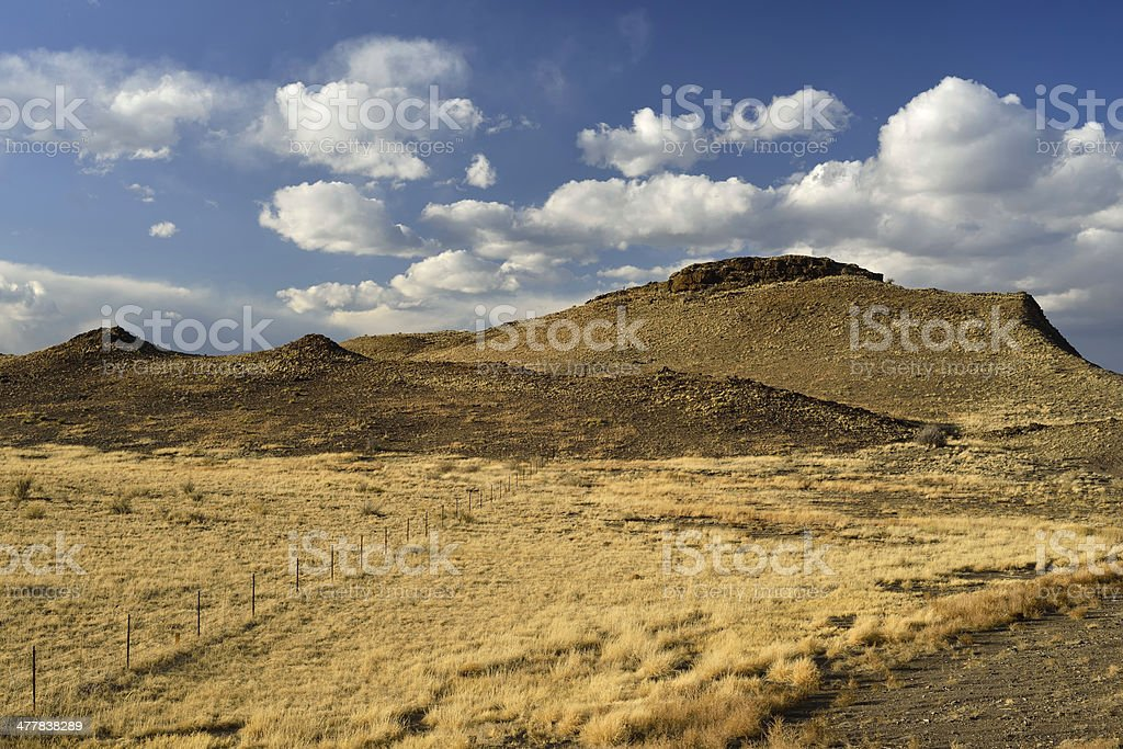 New Mexico Landscape royalty-free stock photo