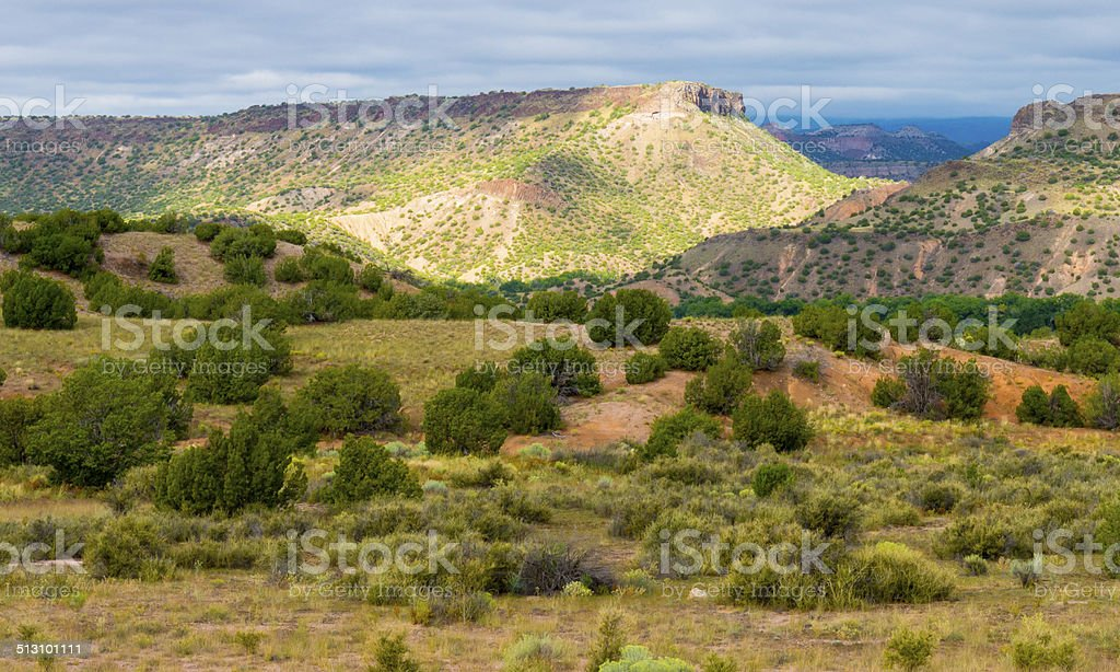 New Mexico Landscape stock photo