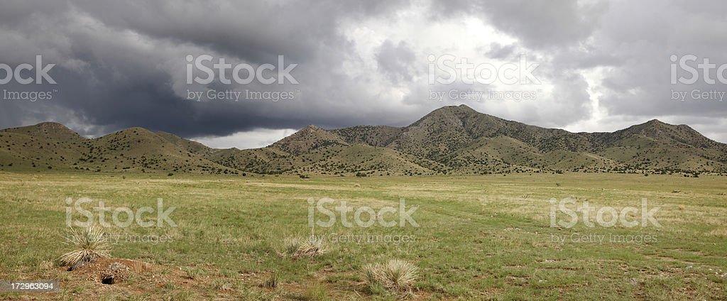 New Mexico Panoramic stock photo