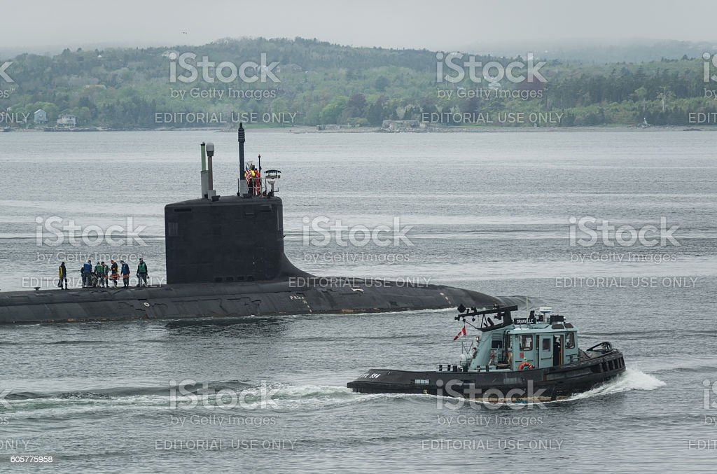 USS New Mexico stock photo