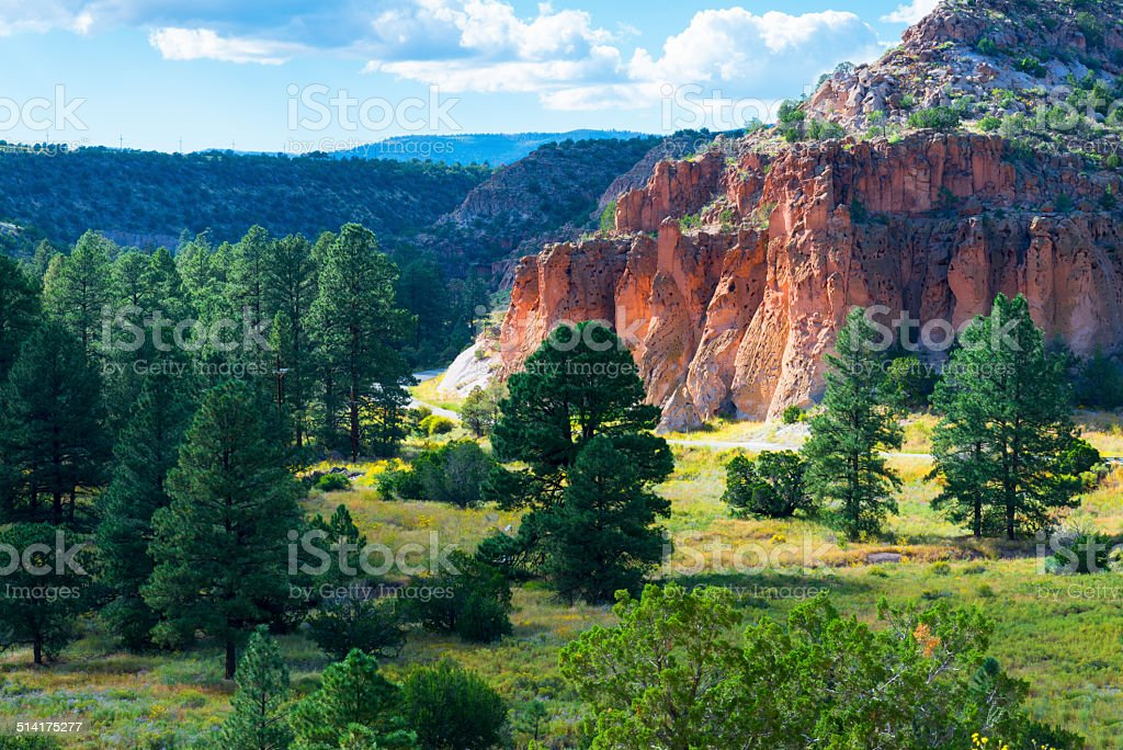 New Mexico Red Rocks stock photo