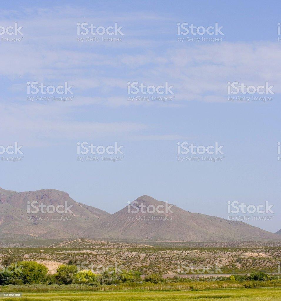 New Mexico Scenery royalty-free stock photo