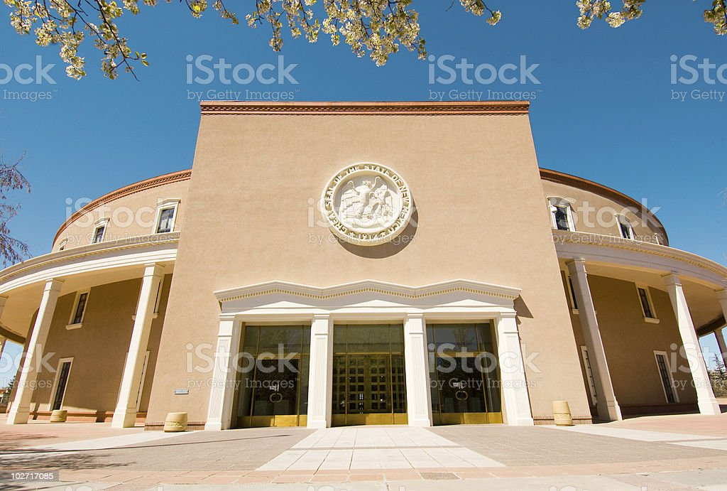 New Mexico State Capitol building royalty-free stock photo