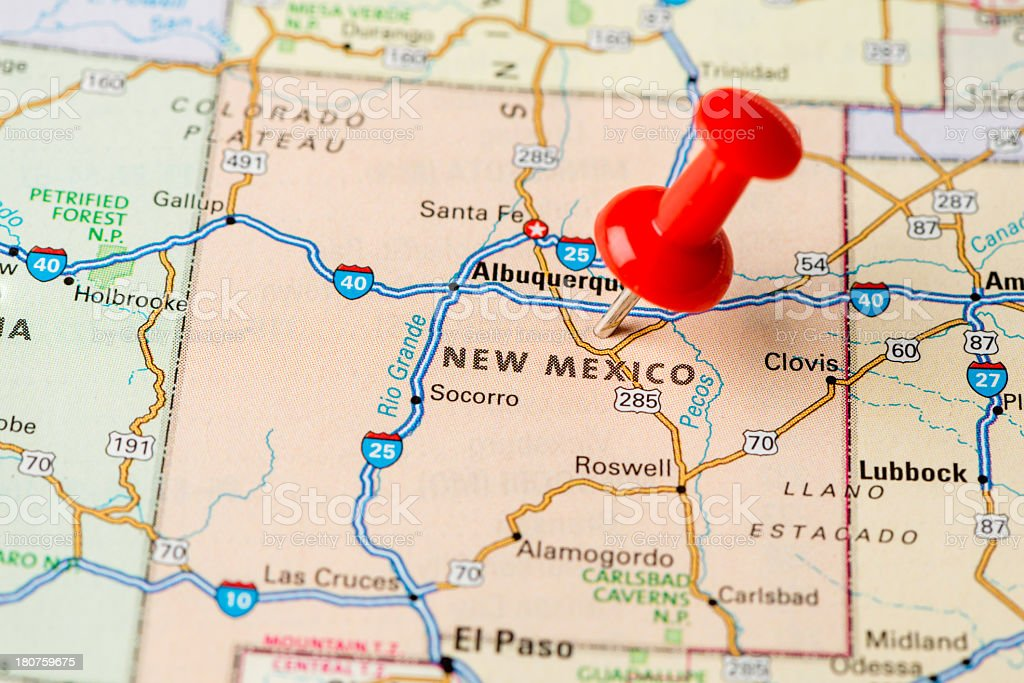 New Mexico state royalty-free stock photo