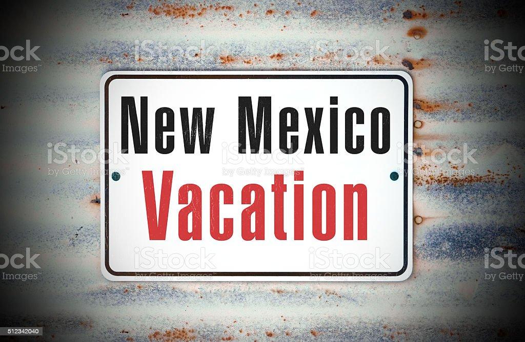 New Mexico Vacation stock photo