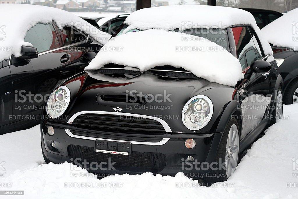 New Mini Cooper S royalty-free stock photo