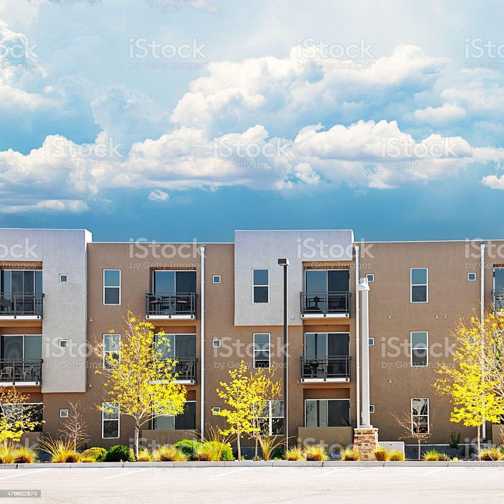 New Modern Apartments stock photo