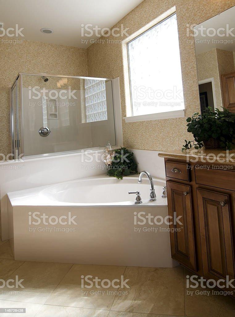 New modern bathroom royalty-free stock photo