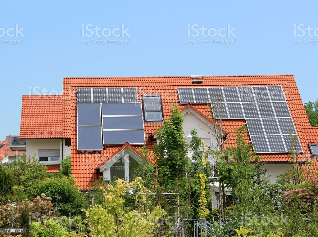 New modern house royalty-free stock photo