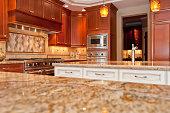 New Modern Luxury Kitchen copy space