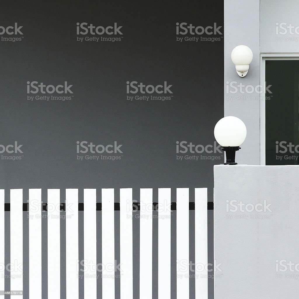 new modern townhouse royalty-free stock photo