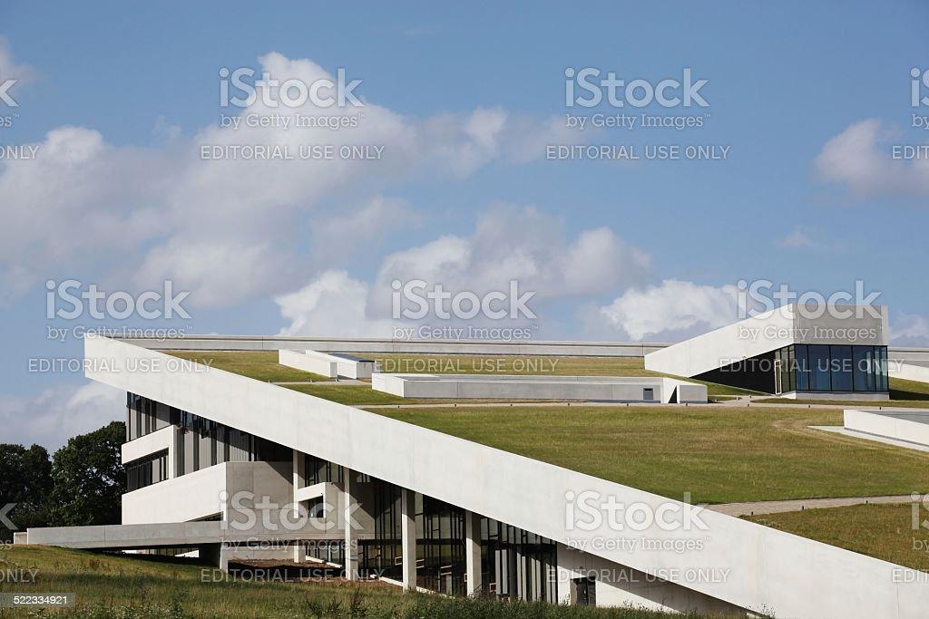 New Moesgaard museum in Denmark stock photo