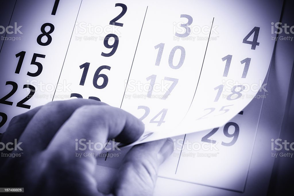 New month royalty-free stock photo