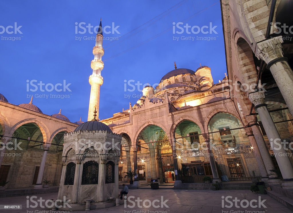 New mosque - 3 royalty-free stock photo