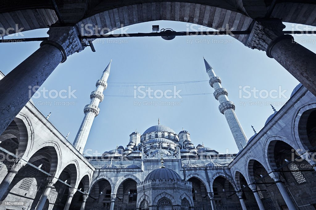 New Mosque in İstanbul stock photo