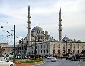 New Mosque Istanbul Eminonu square