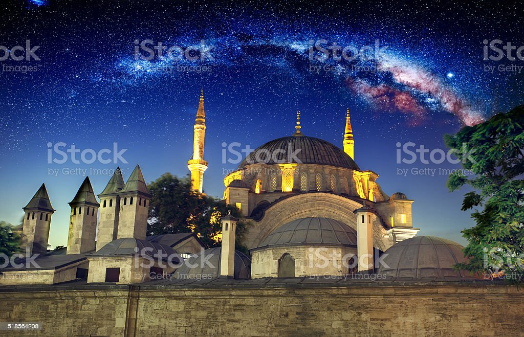 New Mosque, Istanbul stock photo